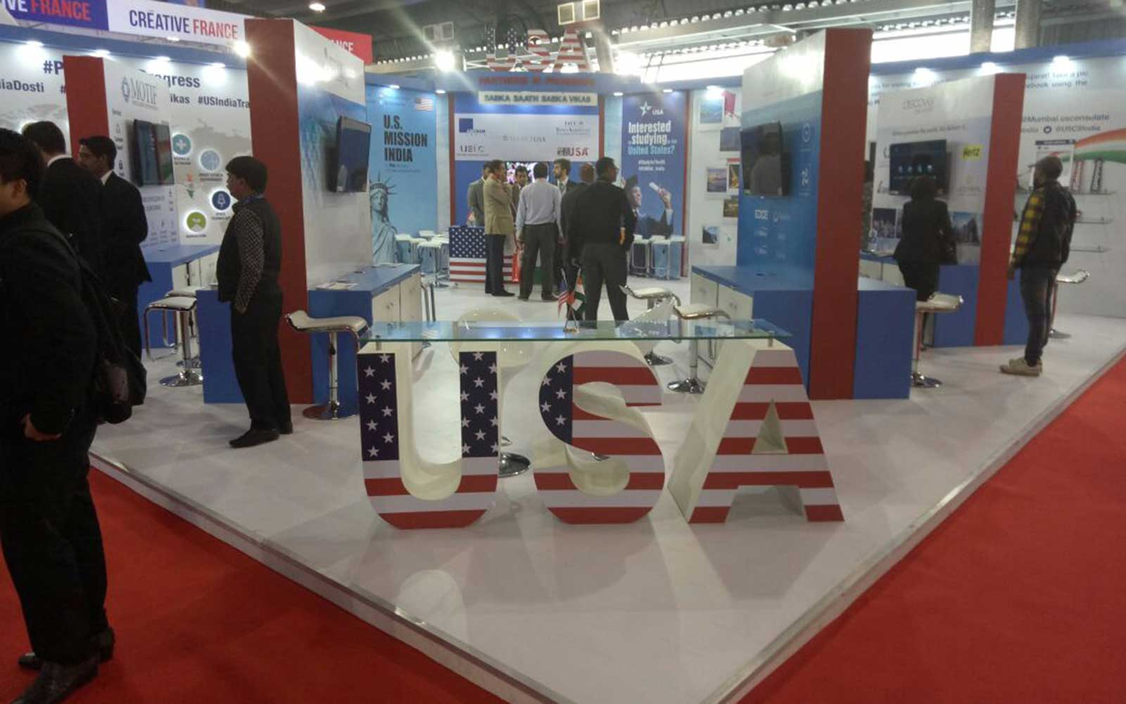 Vibrant Gujarat USA Booth